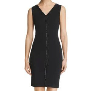 Calvin Klein Womens Studded Black Dress NWT